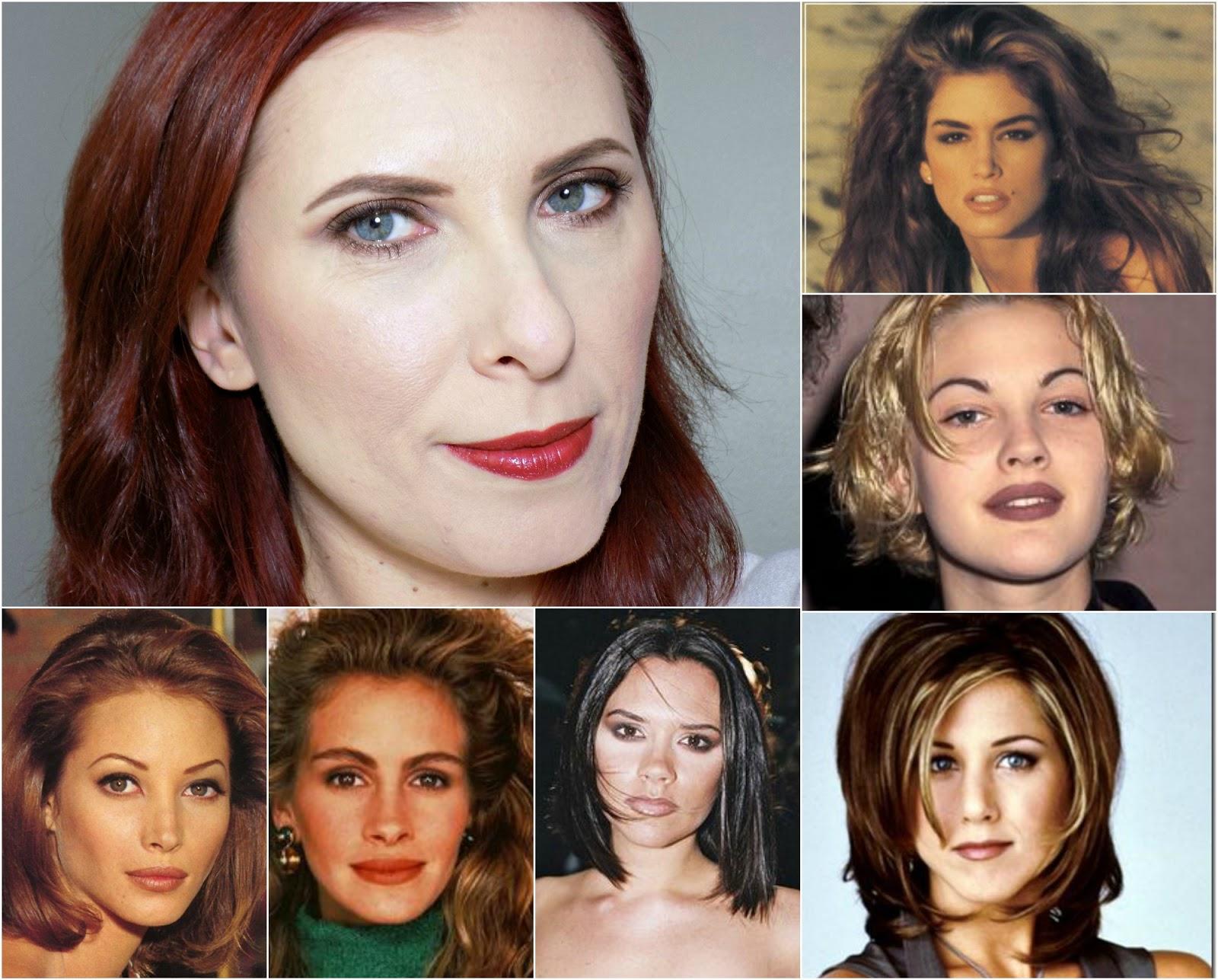 1990s makeup look