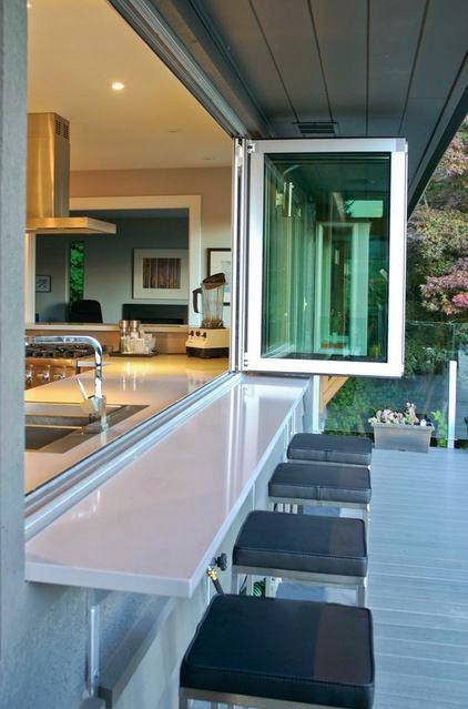 Sweet Chaos Home Kitchen Pass Through Window