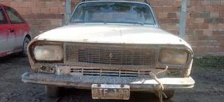 Auto secuestrado en Las Cascadas