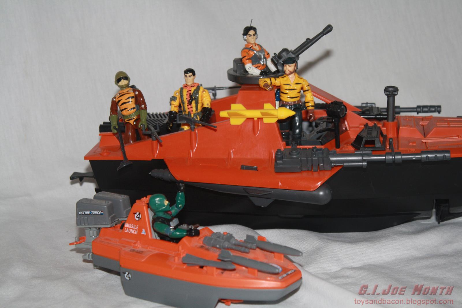 MORAY HYDROFOIL 1985  MISSILE GI JOE COBRA ACTION FORCE loose part