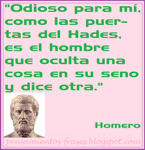 frases de Homero