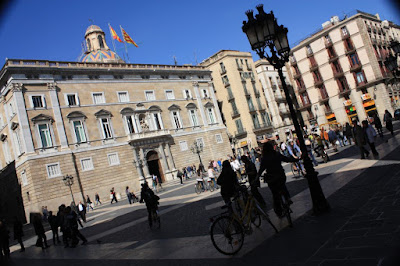 Sant Jaume Square in Barcelona