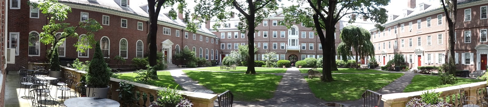 Kirkland House Courtyard