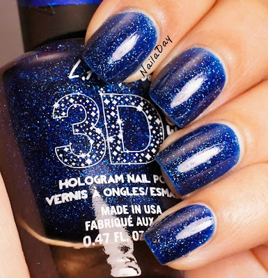 NailaDay: L.A. Girls 3D Effects Brilliant Blue