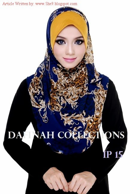 Hijab Contrast with Head-Scarf