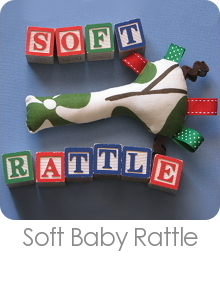 Soft Baby Rattle