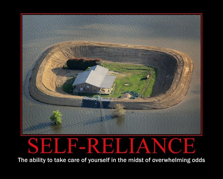 self reliance examples