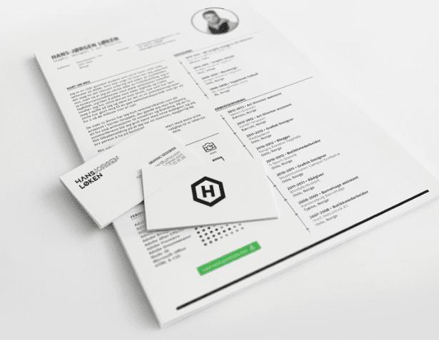Free resume template / CV