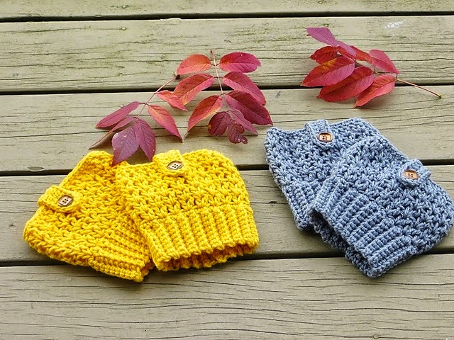 free crochet pattern bailey boot cuffs