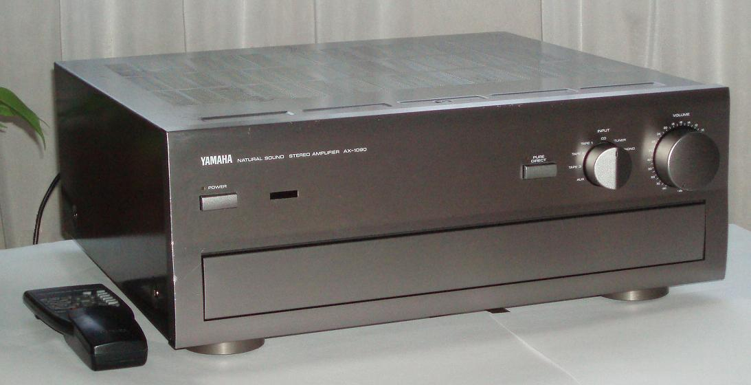 yamaha ax 1090 integrated amplifier audiobaza