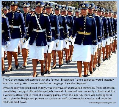 Femdom military discipline no less