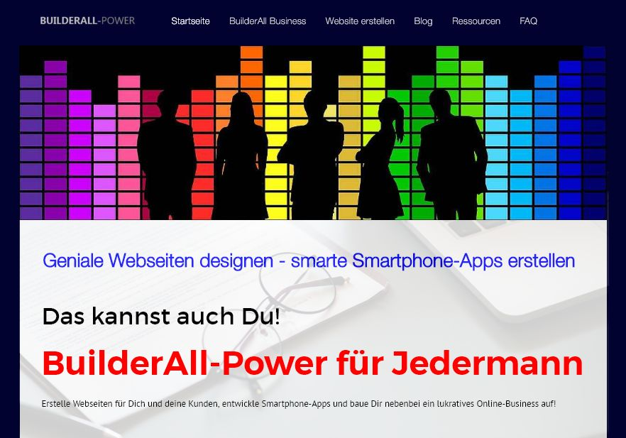 Builderall-Power für Jedermann