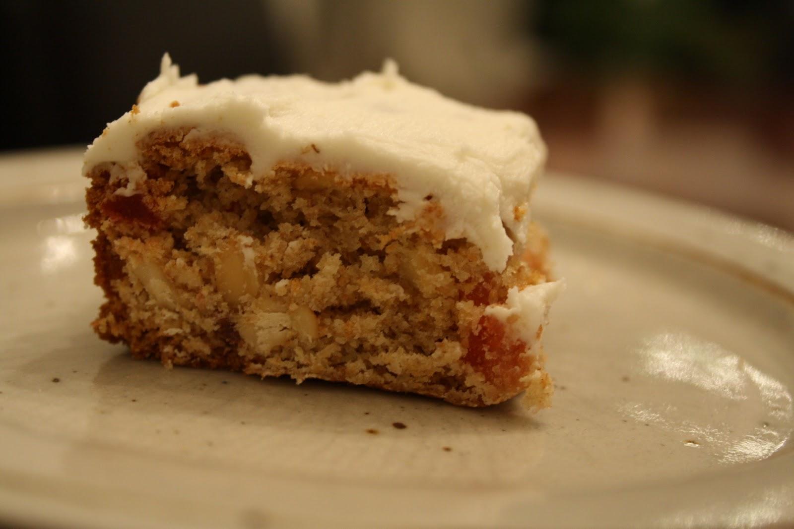 The Sweet Details Baking My Way Glazed Fruitcake Squares