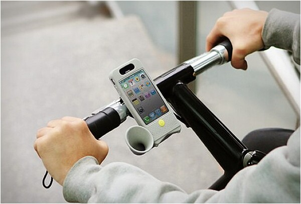 Bone Bike Horn, iPhone 4 Amplifier