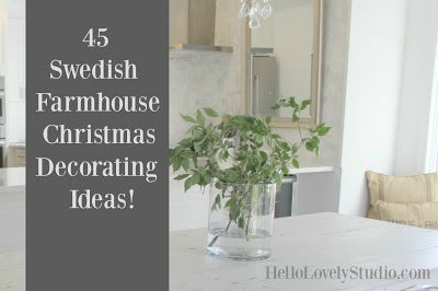 Swedish Christmas Decor
