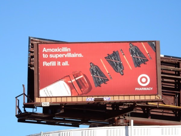 Target Pharmacy Darth Vader billboard
