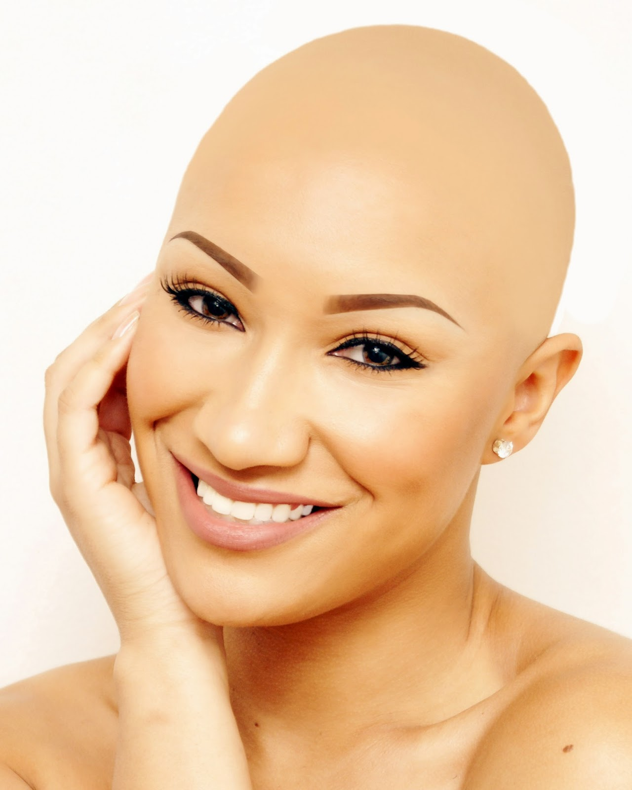 cute bald headed girls