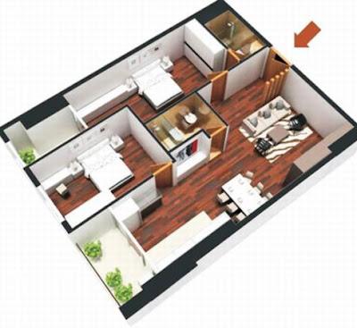 Cách chọn hướng nhà chung cư chính xác nhất