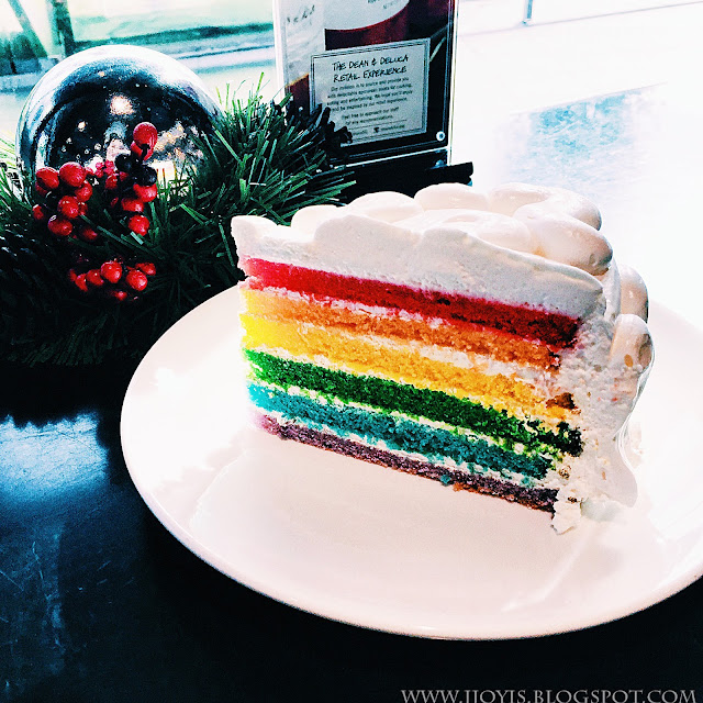 dean and deluca hillview 2 review rainbow cake