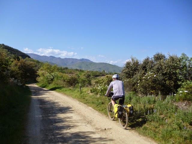 Primeros kilómetros del Camino de Invierno