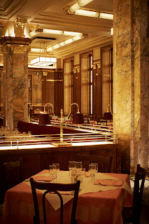 Brasserie Zedel's beautiful interior designed by David Collins Studio