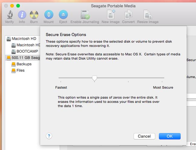 Mac disk utilities