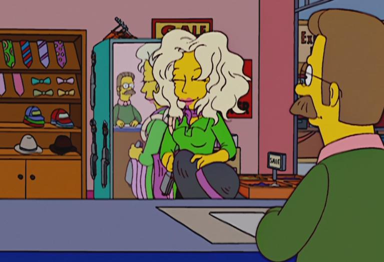 The Simpsons A Star Is Born Again Flanders