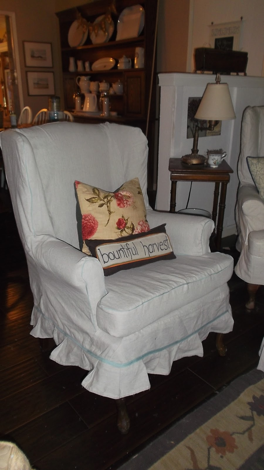 Another Wing Chair Slipcover