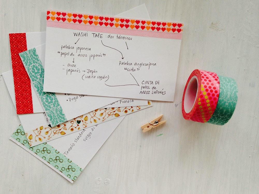 washi tapes no importa el color ni las lo mejor es que aporten un punto de color y dejen vislumbrar la temtica os dejo con ms fotos