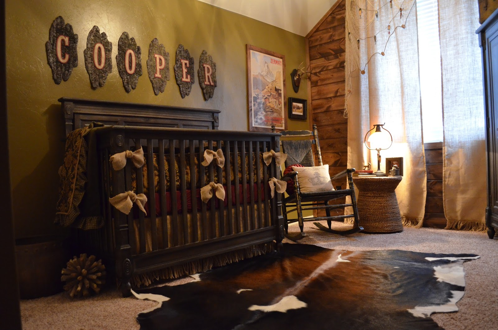 frilly little details nursery reveal cooper 39 s cabin