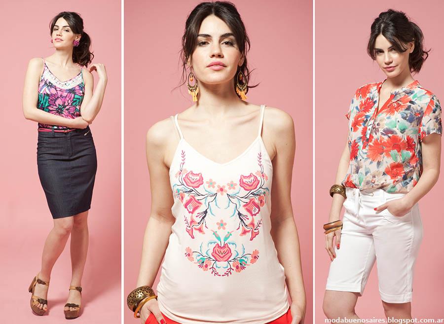 Moda verano 2015. Ted Bodin moda en ropa de mujer primavera veranoo 2015.