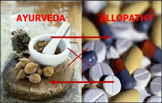 Ayurveda , Allopathy