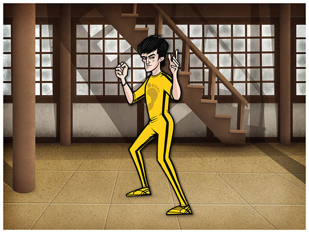 Clássicos do Cinema por Justin White - O Último Combate de Bruce Lee - Game of Death - Robert Clouse
