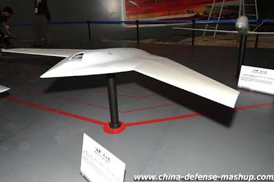China revela o seu curioso projeto de UCAV