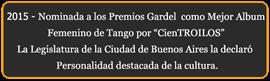 Nominación Premios Carlos Gardel