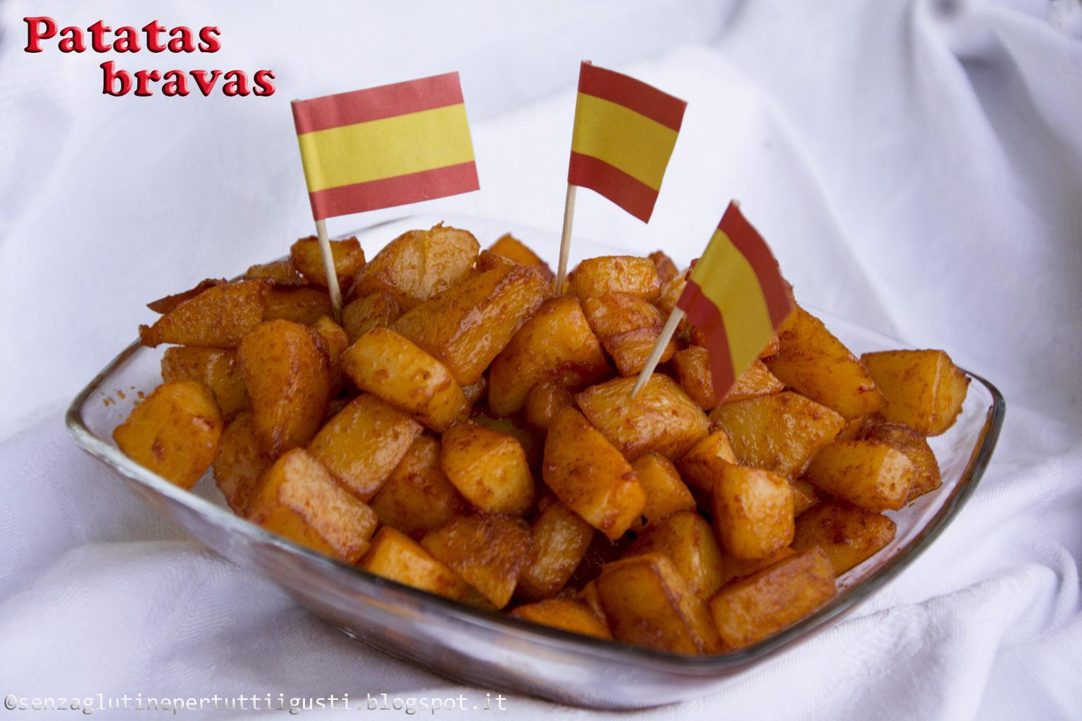 patatas bravas; dalla spagna le tapas per il 100% gluten free (fri)day #gffd