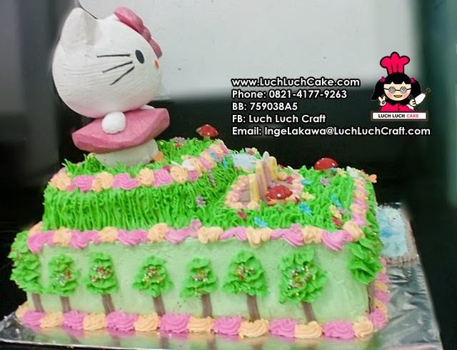 cake hello kitty ulang tahun