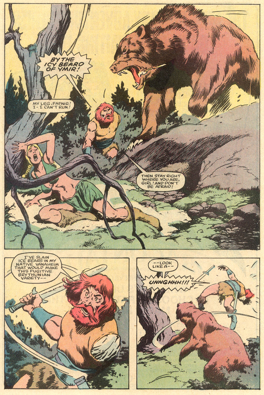 Conan the Barbarian (1970) Issue #163 #175 - English 7