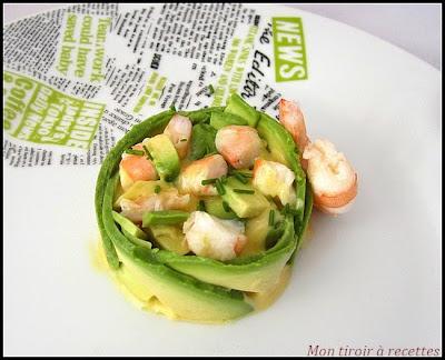 Mon tiroir recettes blog de cuisine recettes de f tes for Entree simple et raffinee