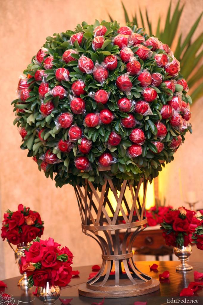 decoracao de casamento que eu posso fazer:uma opção de diferente de doce para servir no casamento maçã do