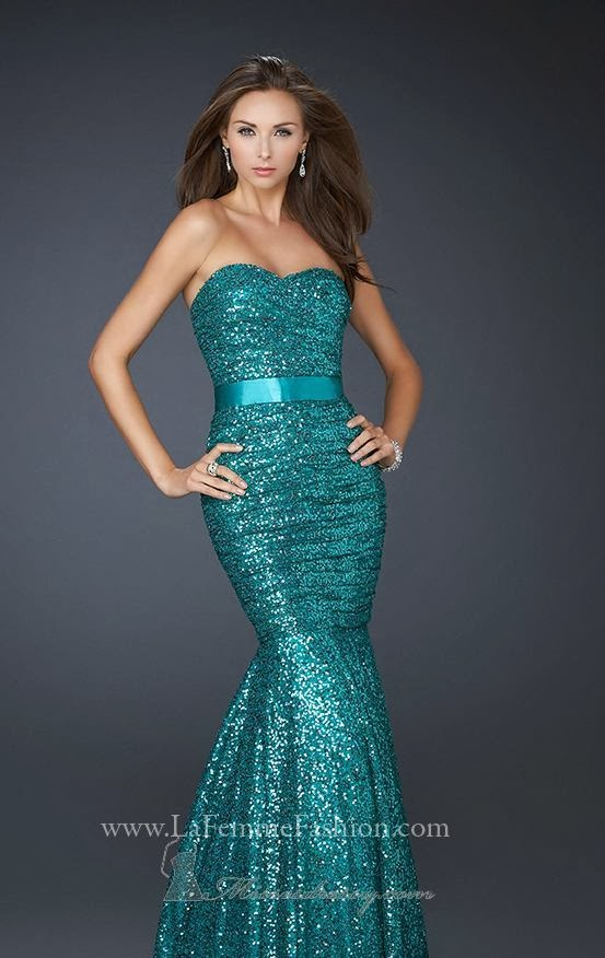 Long, Fish Skirted, Amazing Dress for Prom and Wedding
