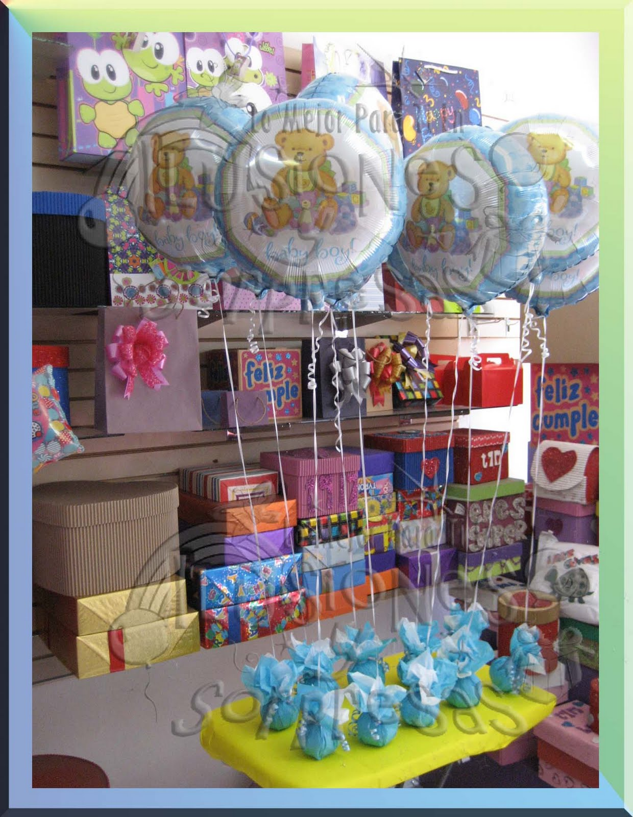 related to centro de mesa con globos para baby shower youtube
