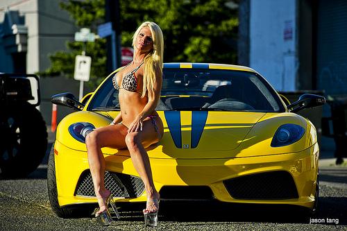 Scuderia Supercars Sa Supercar And Girl Scuderia