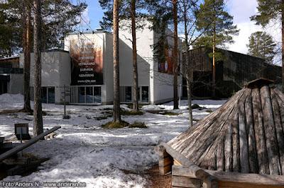Jokkmokk samemuseum samiskt museum Ajtte