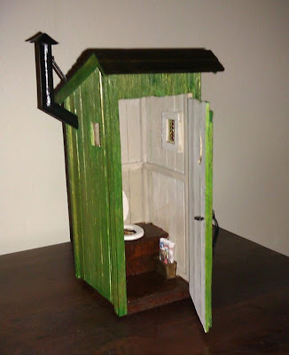 & Jaranson Fairy Doors: Outhouse Fairy Door #31 Pezcame.Com