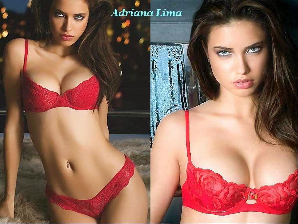 brazilian model adriana lima hot bikini hd wallpapers