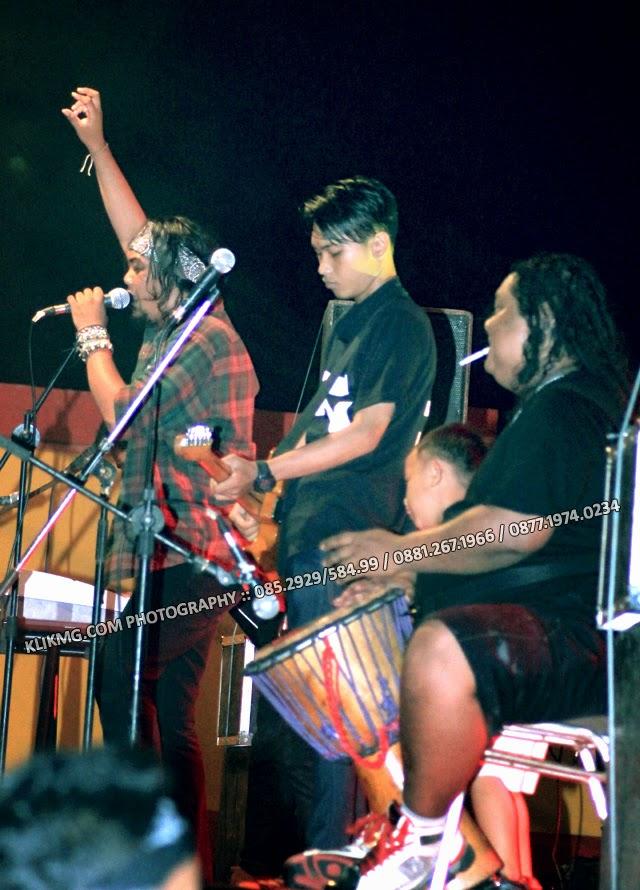 Pentas Regge Rock HONDA : EKSPEDISI NUSANTARA 2014 di GOR Satria Purwokerto
