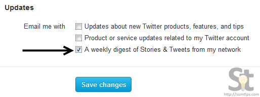 Unsubscribe from Twitter Weekly Digest