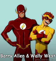 Barry Allen e Wally West