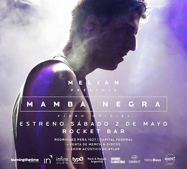 backstage de MELIAN del videoclip mamba negra